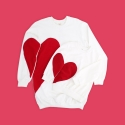 Sweater Matching Heart Mama